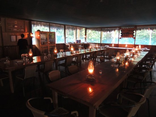 Muyuna Amazon Lodge: momento pre cena