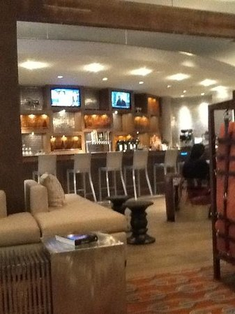 Renaissance St. Louis Airport Hotel: the bar