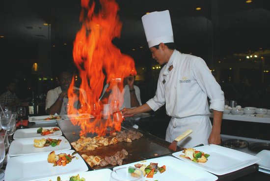 Grand Palladium Colonial Resort & Spa: one of the a-la-carte restaurants