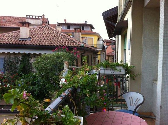 View from Hotel Elena Balcony