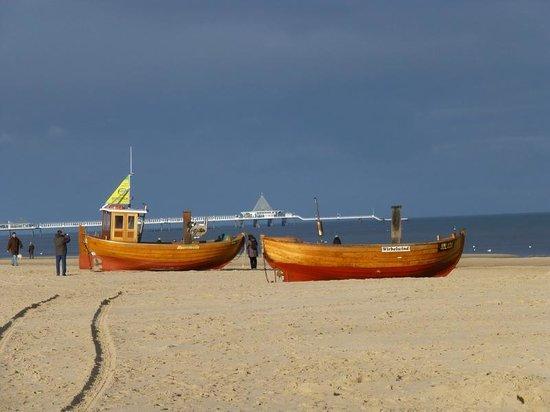 SEETELHOTEL Ostseehotel Ahlbeck: Strandwanderung