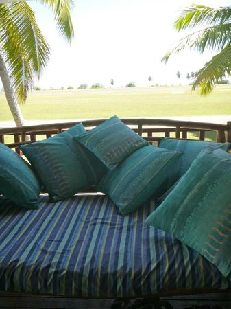 Cocos Cottages : daybed