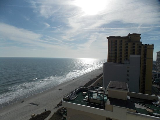 The Strand a Boutique Resort: This is the view from our 16th floor room!