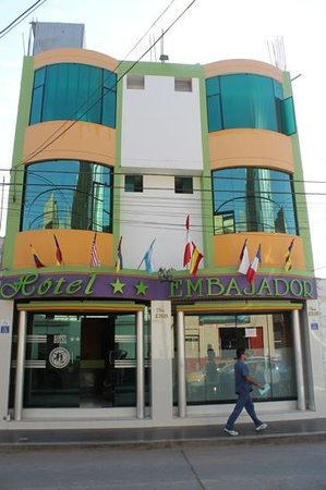 Hotel Embajador: just a hint of the colourful decorations
