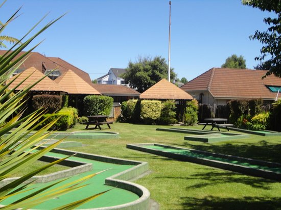 SilverOaks Resort Heritage : Mini Golf