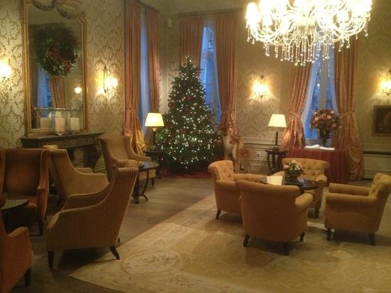 Grand Hotel Casselbergh: the main lounge