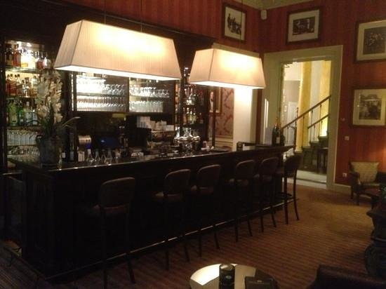 Grand Hotel Casselbergh Bruges: The bar