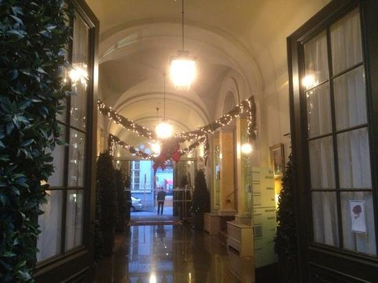 Grand Hotel Casselbergh: Entrance hall