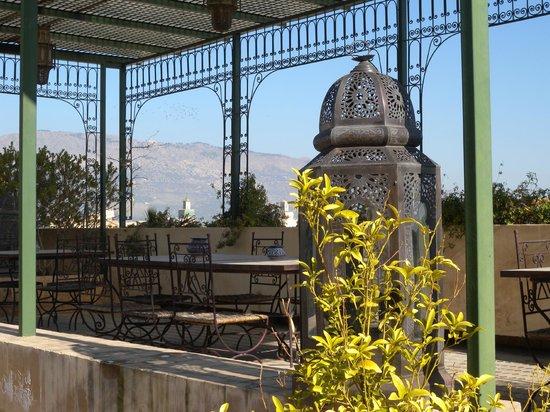 Riad Souafine : Terrasse supérieure