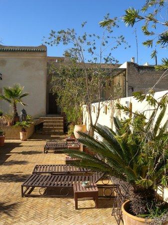 Riad Souafine : une autre vue de la terrasse