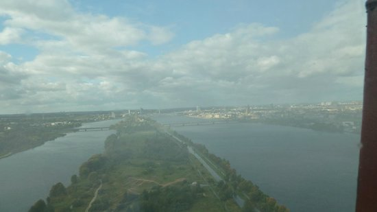 Riga Radio and TV Tower: view