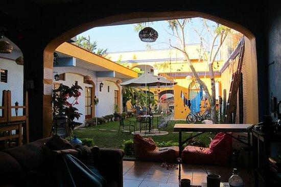 Azul Cielo Hostel: Courtyard