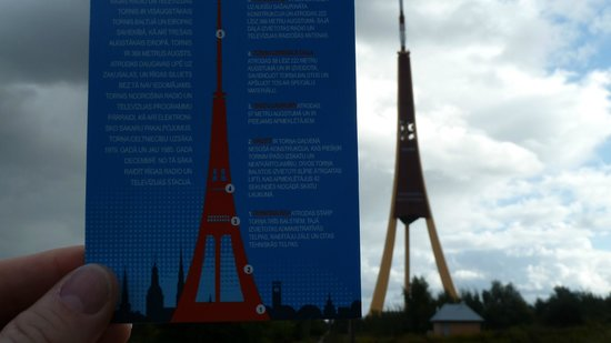 Riga Radio and TV Tower: comparison