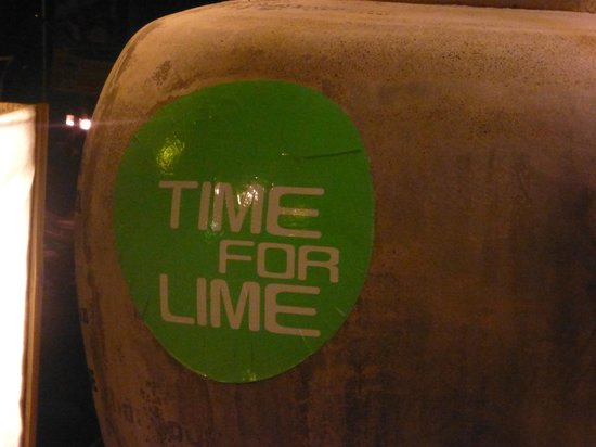 Time for Lime's Restaurant: Time for lime