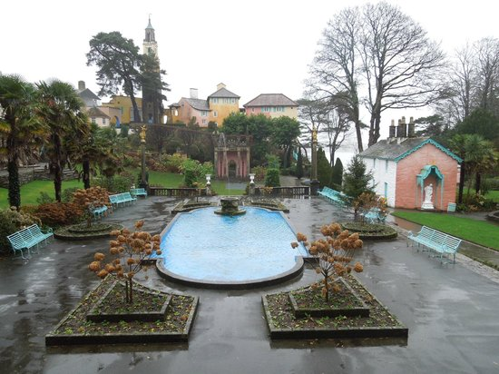 Portmeirion Village: The Piazza