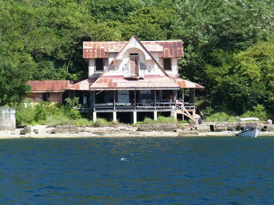 Chacachacare: Haunted house