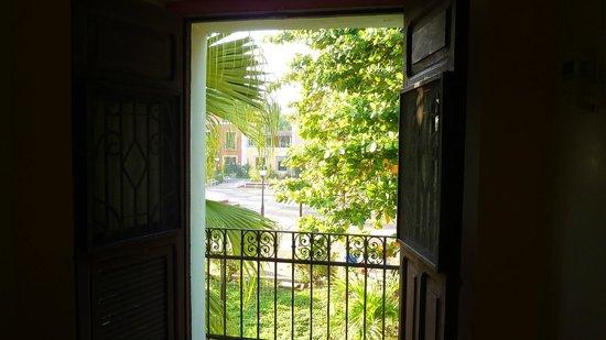 Hostel Candelaria: Widok z balkonu