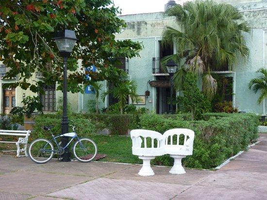 Hostel Candelaria: Wejście do hostelu