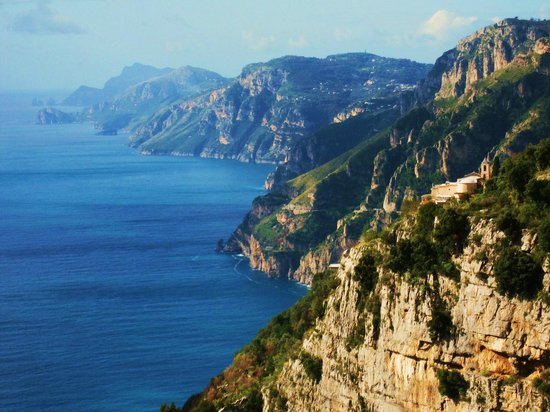 Agerola, Italy: View during Walk of the Gods