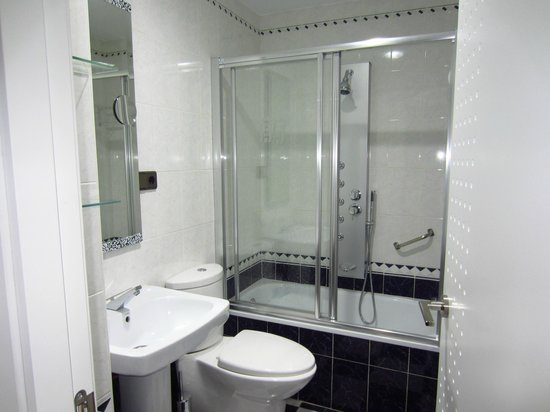 Hotel Molinos: baño