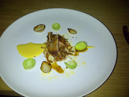 The Tasting Room at Le Quartier Francais: Quail
