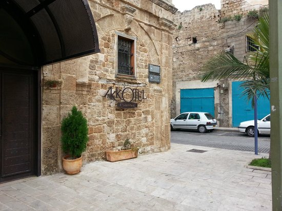 Akkotel: View of front of hotel