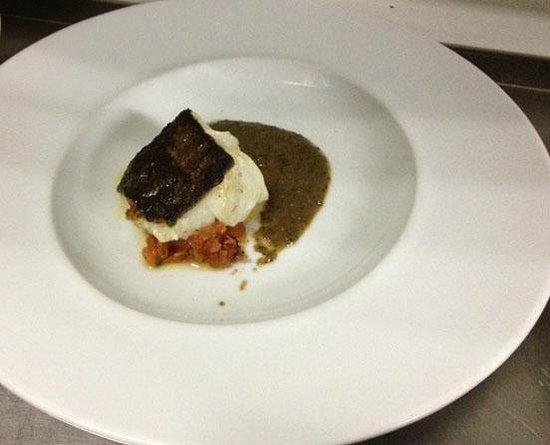 Sikera Bar Restaurante : pintxo de bakalao a la plancha