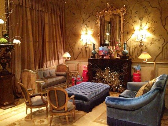El Palace Hotel: Камин