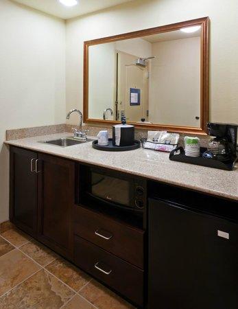 Hampton Inn & Suites Holly Springs: Suite Wetbar