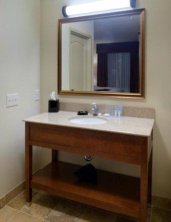 Hampton Inn & Suites Holly Springs : Guest Vanity