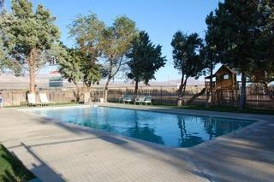 Olancha RV Park and Motel: Sparkling Swimming Pool