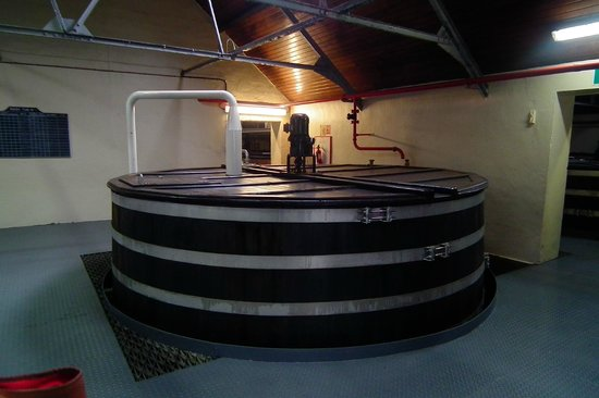 Glenfiddich Distillery: 1 of the 24 washbacks, yes 24 of them