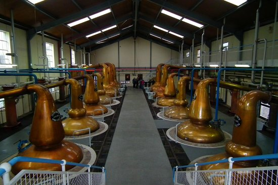 Glenfiddich Distillery: Inside the still house