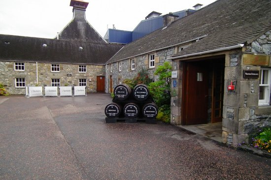 Glenfiddich Distillery: Visitors entrance