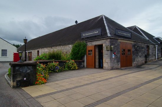 Glenfiddich Distillery: The gift shop