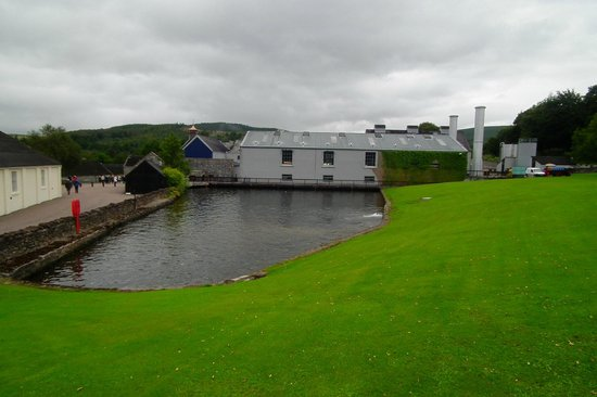 Glenfiddich Distillery: Just arrived and took this