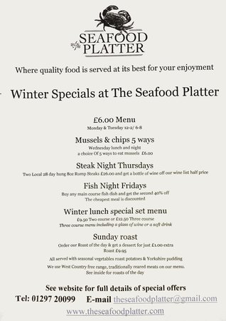 Barrel o' Beer: Winter Specials
