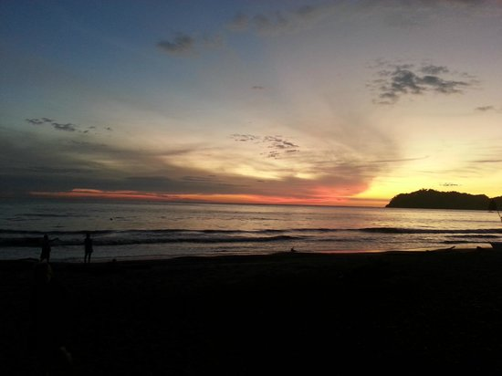 Fenix Hotel - On The Beach: Another amazing sunset on the beach at The Fenix