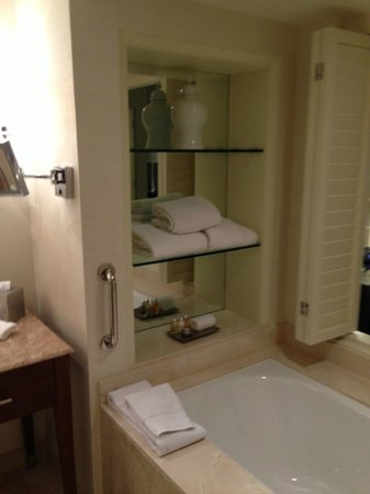 The Bristol Panama Hotel & SPA: Bathtub in a Tower Executive King