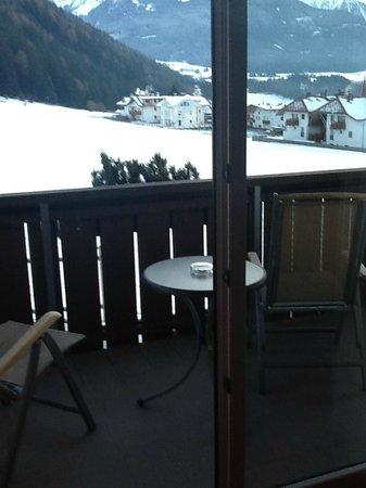 Dolomit Family Resort Garberhof : Vista dalla camera