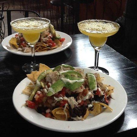 Nachos And Margaritas At Equinoccio Tapas Bar Picture Of