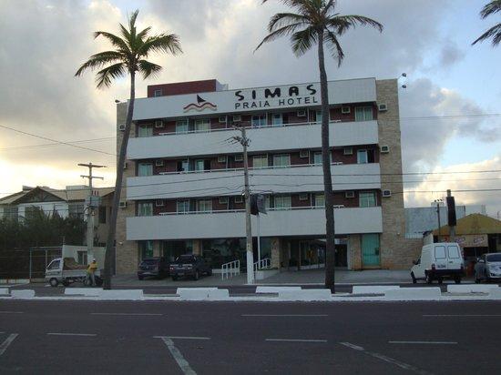 Simas Praia Hotel: vista da frente