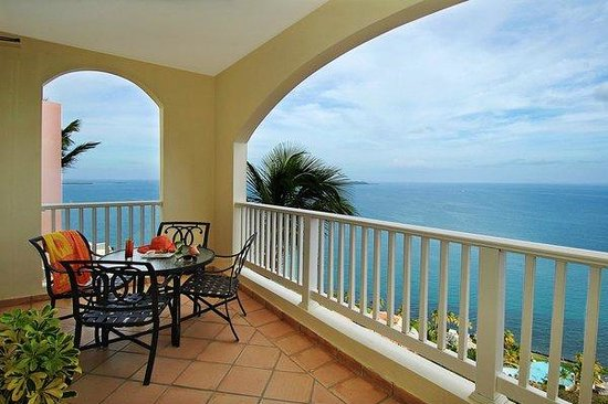 Las Casitas Village, A Waldorf Astoria Resort: Private Ocean View Balcony