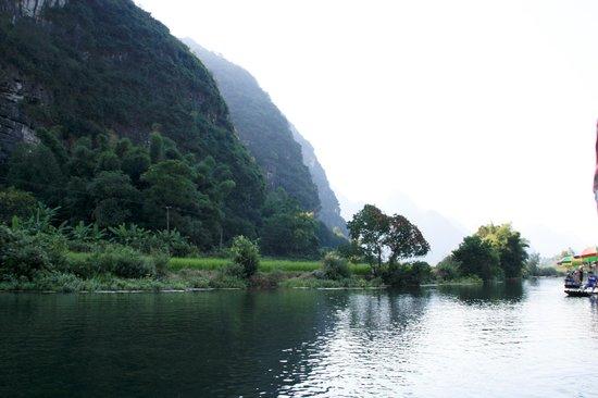 Yangshuo Bamboo Rafting