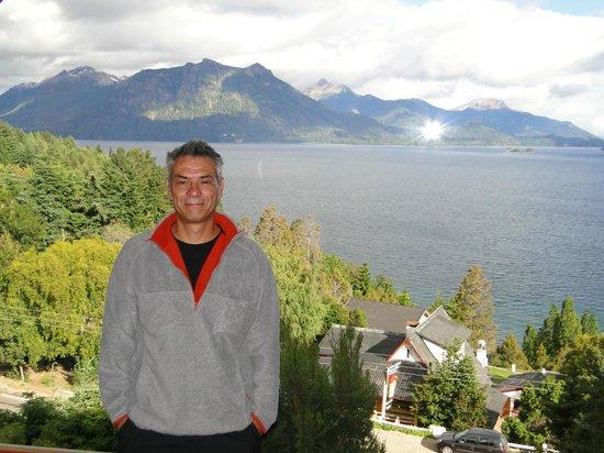 Apart Hotel Cabanas Balcon al Lago: vista desde el living