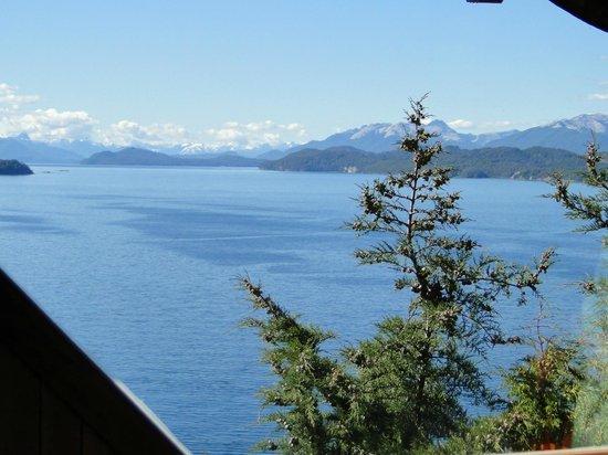 Apart Hotel Cabanas Balcon al Lago: vista magnifica