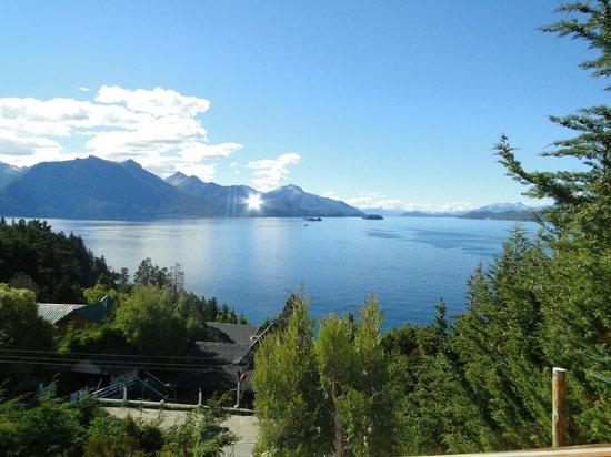 Apart Hotel Cabanas Balcon al Lago: vista espectacular