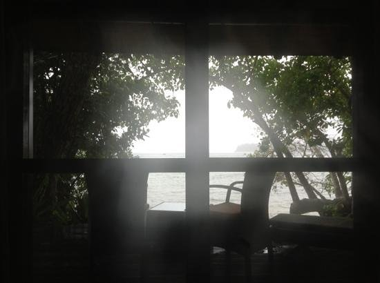 Kanua Tera Ecolodge: view from our bed