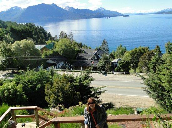 Apart Hotel Cabanas Balcon al Lago: vista de la cabaña 1