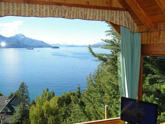 Balcon al Lago: gran ventanal
